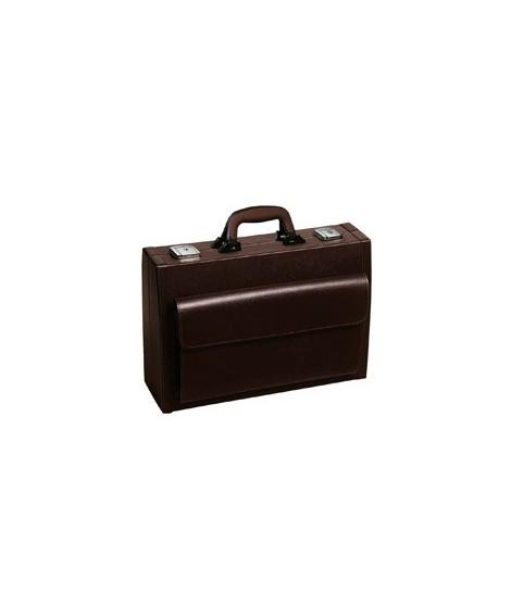Piccola cuir bordeaux - 41 cm
